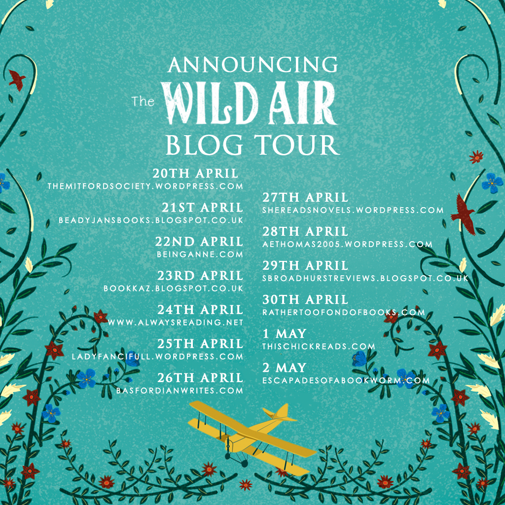 Review / Blog Tour The Wild Air by Rebecca Mascull