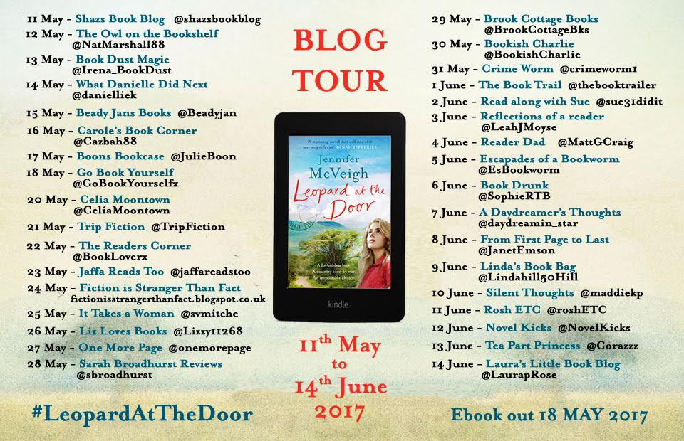 Review / Blog Tour: Leopard at the Door by Jennifer McVeigh