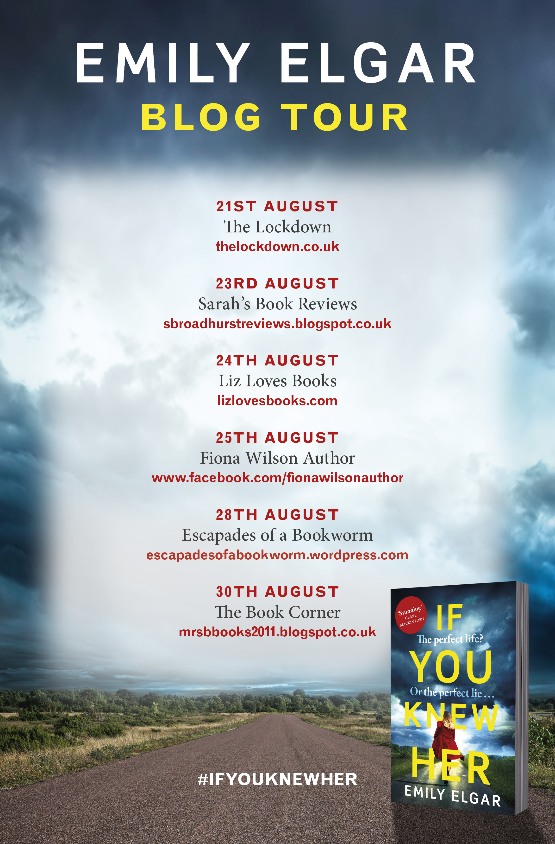 Blog Tour / Guest Post: 'How I'm Learning to Manage My Energy for Writing and My Time' by Emily Elgar, Author of If You Knew Her
