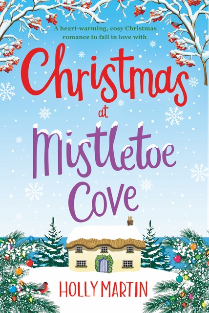 Blog Tour/ Review: Christmas at Mistletoe Cove by Holly Martin