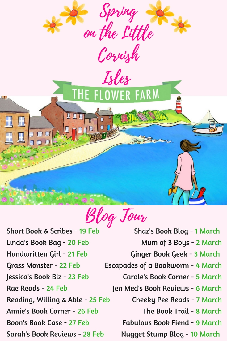 Blog Tour / Guest Post: 'My  Top Tips for Writing a Novel' by Phillipa Ashley, author of Spring on the Little Cornish Isles