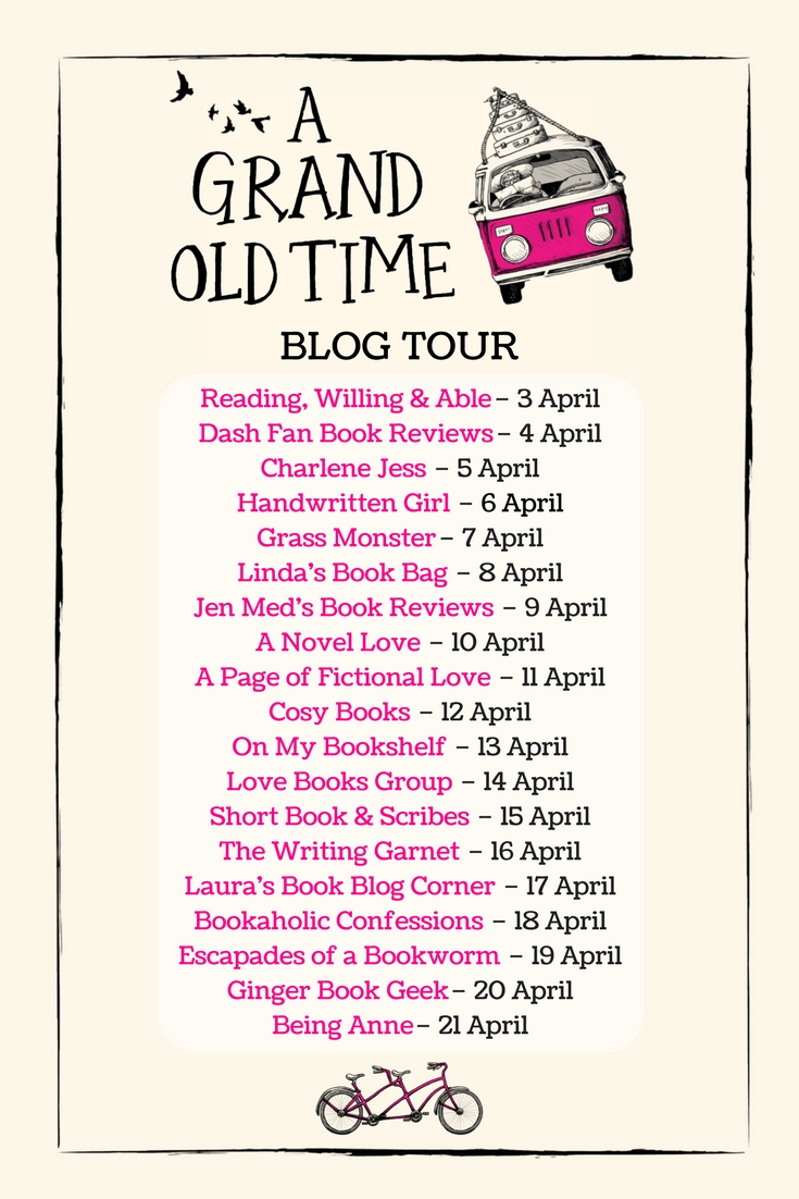 Blog Tour: Q&A  with Judy Leigh, author of A Grand Old Time