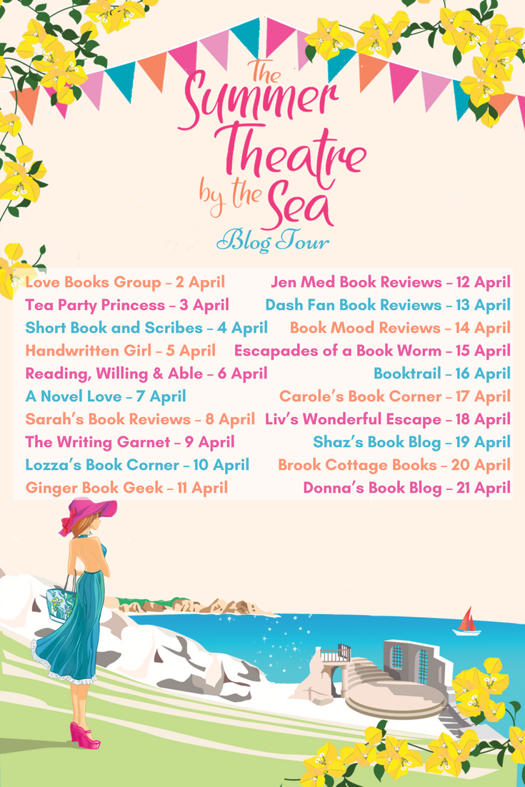 Blog Tour / Guest Post: 'The inspiration of The Corineus Theatre' by Tracy Corbett, author of Summer Theatre By The Sea